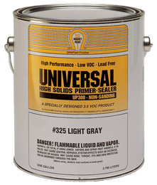 Universal Non-Sanding Primer - Light Gray - 1 Gallon