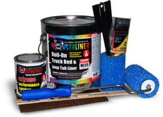 Monstaliner 1 Gallon Roll-On Bedliner Kit