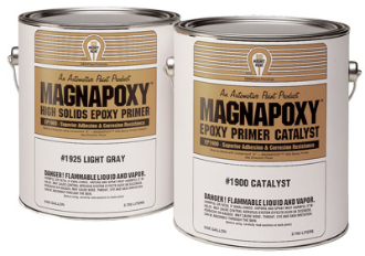 MAGNAPOXY™ 2K Epoxy Primer - Lt Gray - 2 Quart Kit