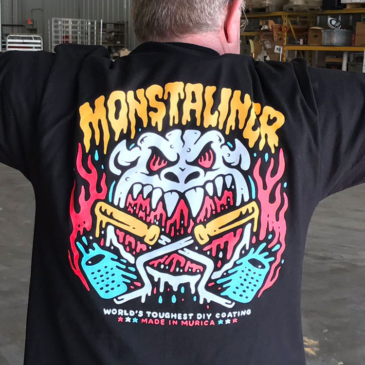 JOLLY ROGER MONSTA T-SHIRT